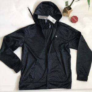 Adidas climawarm athletic hoodie zipper size l